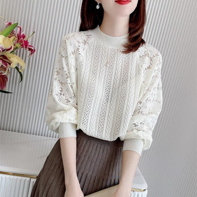 Spring Knit Lace Stitch T639