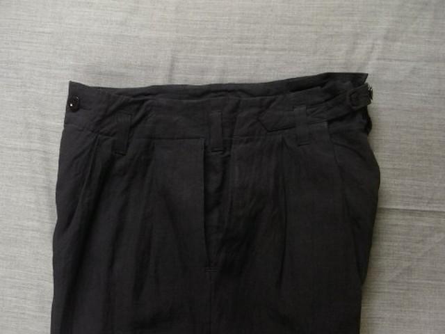 worquera linen trousers 1790 / deepnavy