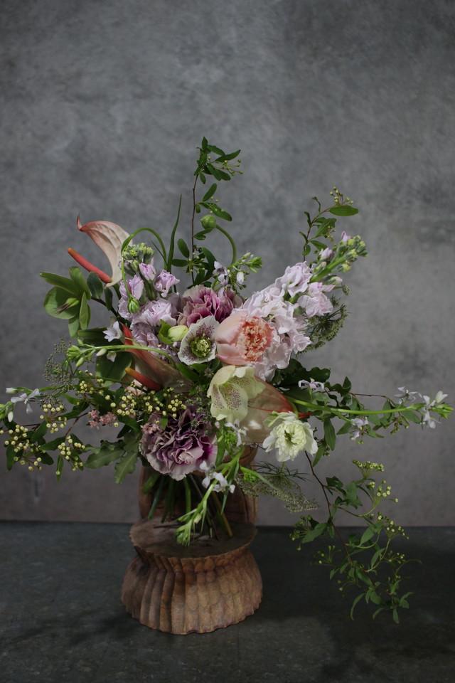 店舗、オフィス用 装花の定期便