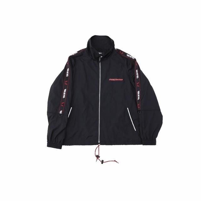 【10%OFF】MYne × BADBOY Track jacket / BLACK - メイン画像