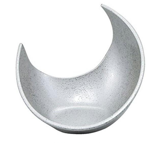 三日月盛器 シルバータタキ