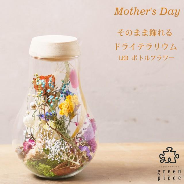 ~Thanks Mother's Day~ テラリウム ボトルフラワー 電球