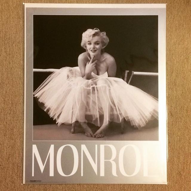ポスター「マリリン・モンロー バレリーナ」 - メイン画像