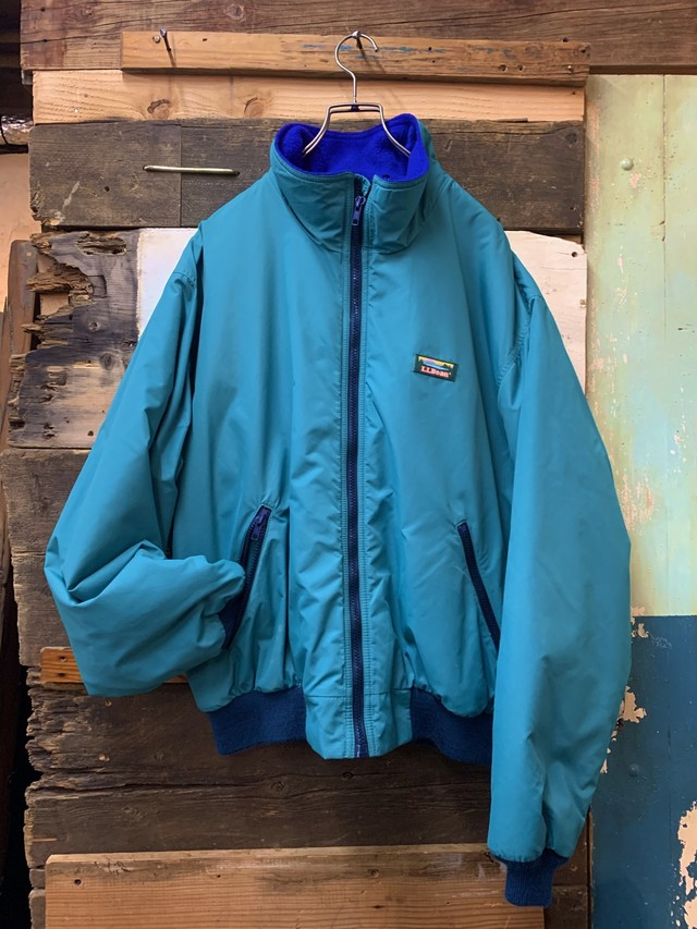 80-90's L.L.Bean Warm-up Jacket