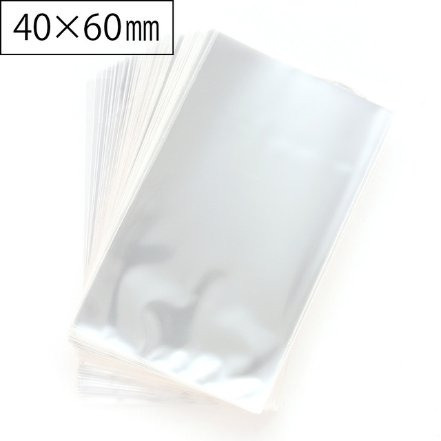 OPP袋 S シールなし ラッピング用透明袋 40×60mm 300枚