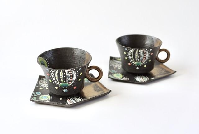 黒風船Cup&Saucer