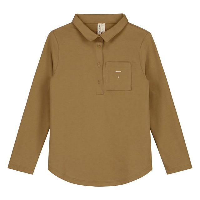 GRAY LABEL / L/S Polo Tee[Peanut]