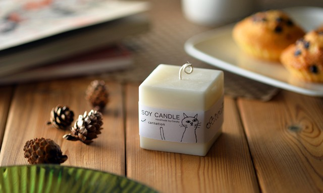 SOY CANDLE(キューブ)
