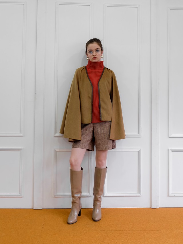 wool gown coat(camel)