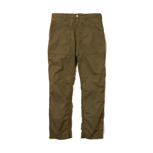 TRIPLE STITCHED 6 POCKET PANTS -KHAKI