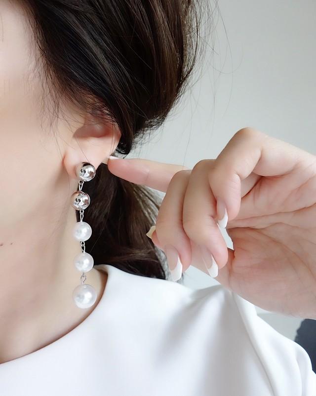 range metal ball pierce,earring