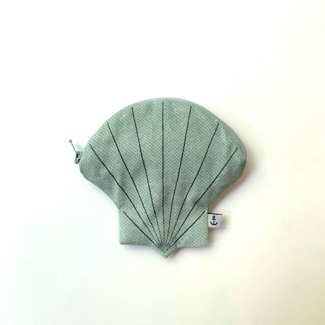 貝のポーチ ホタテ