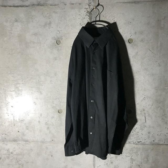 [used] black plane shirt
