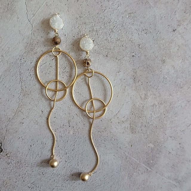 Snake chain Long Ear Jewelry