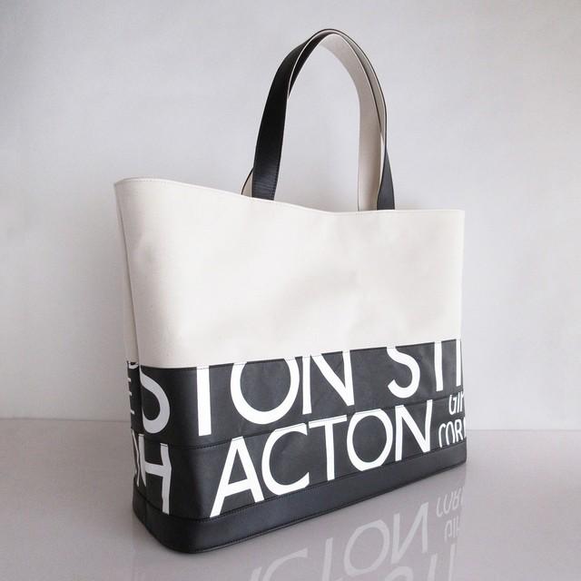 Tote Bag (L) / White  TLW-0005