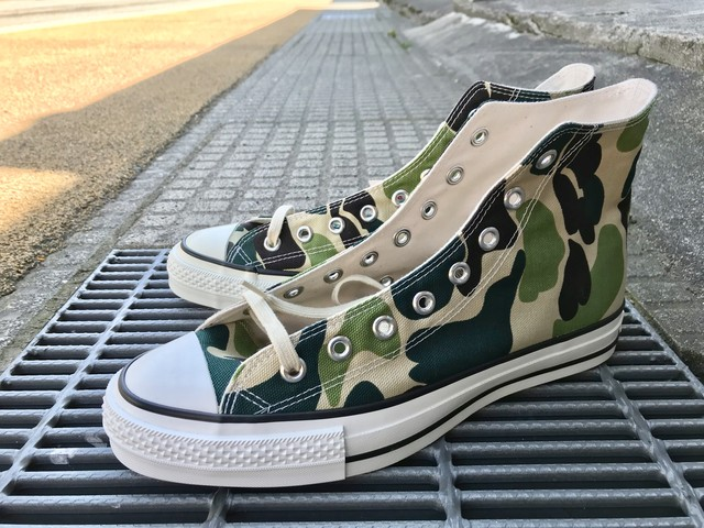 CONVERSE ALL STAR  J 83 CAMO HI (OLIVE)