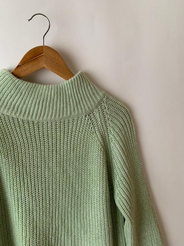 【asyu】knit tunic