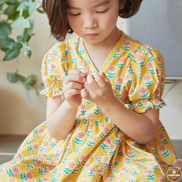 «予約» HAI flower piece  フラワーワンピース