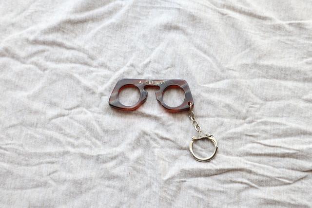 【フランス】メガネのキーホルダー/A.DEMENY