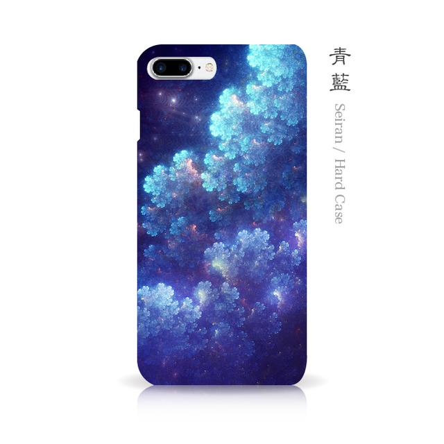 青藍 - 和風 iPhoneケース