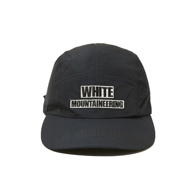 WM LOGO EMBROIDERED JET CAP -NAVY