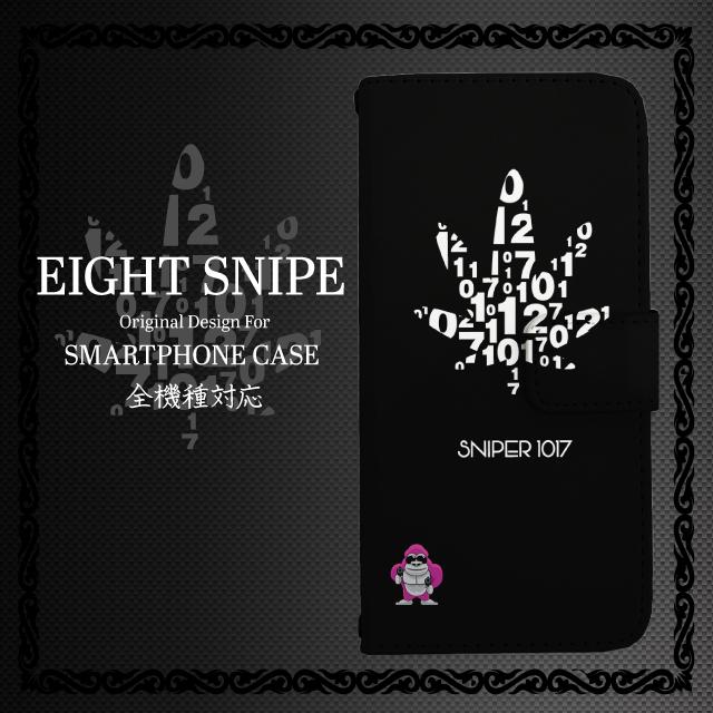 [es_w] EIGHTSNIPEオリジナルデザイン手帳型スマホケース エイトスナイプ SNIPER1017 I'Déco イデコ