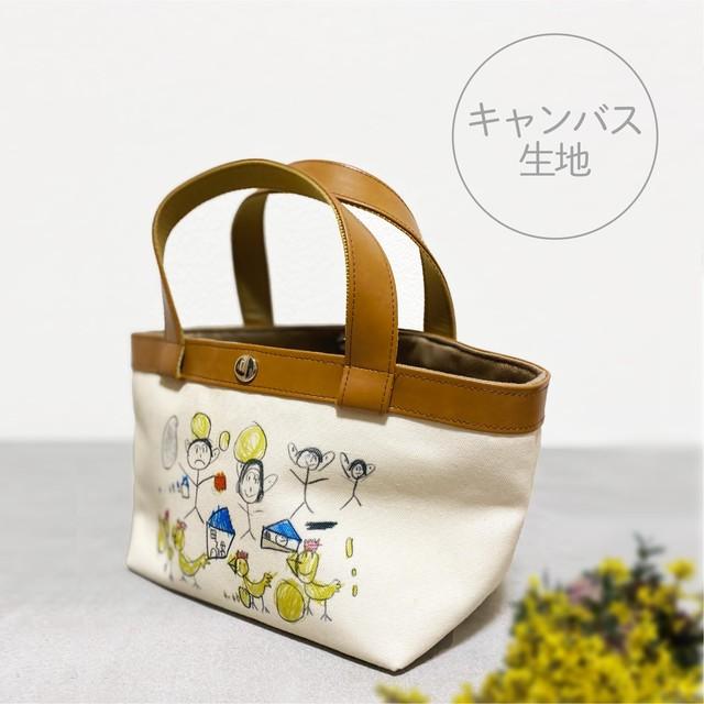 【11月下旬お届け予定】ミニトートバッグ◆キャンバス