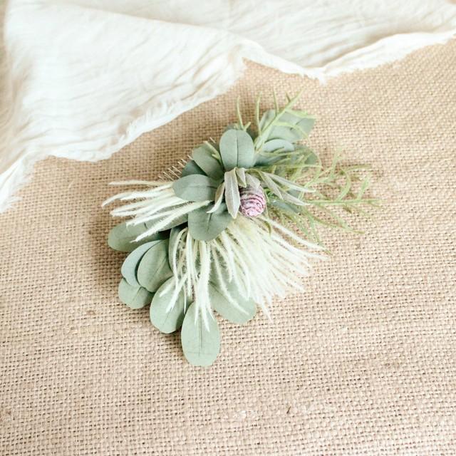 "Hair ornament for ""Fresh color Bouquet"""