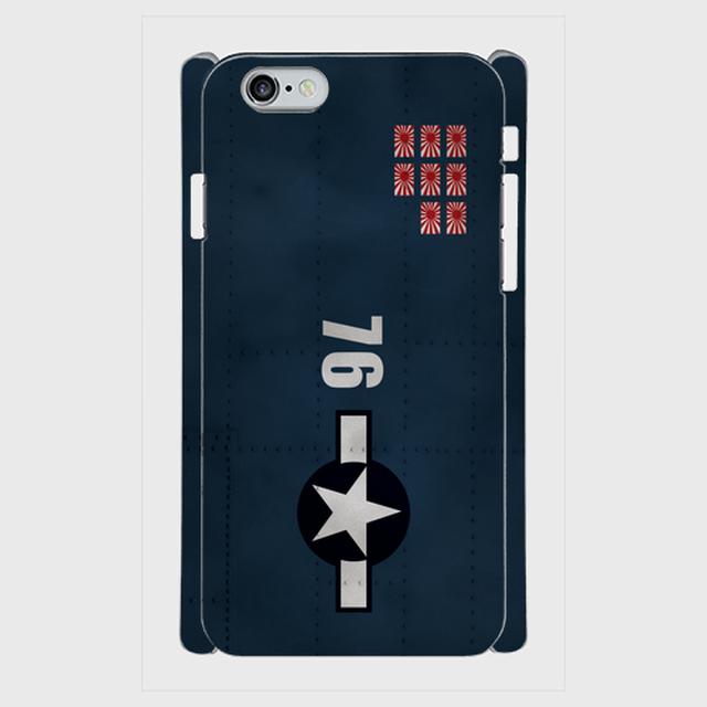 アメリカ海軍戦闘機F6Fヘルキャット  iPhoneケース