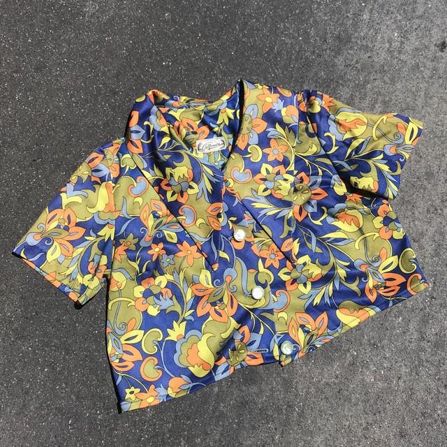 【Vintage】60s Flower Tops