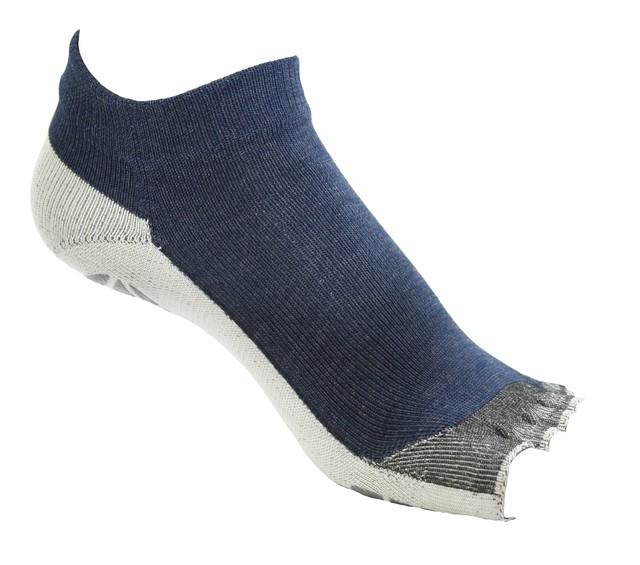 はだし靴下ロード オープンフィンガー (ワインMix)