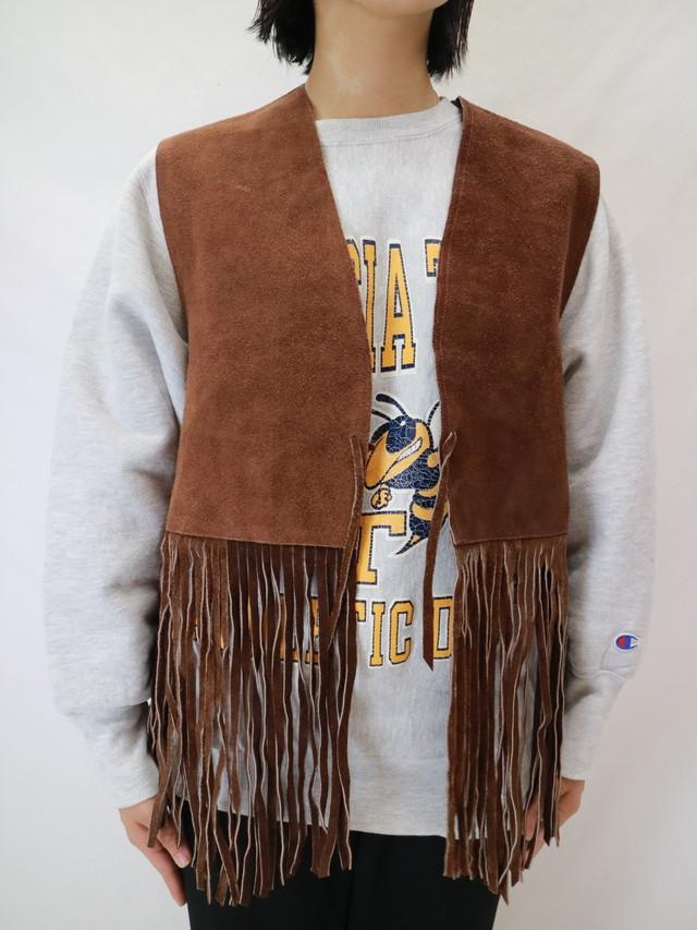 fringe vest 【0417】