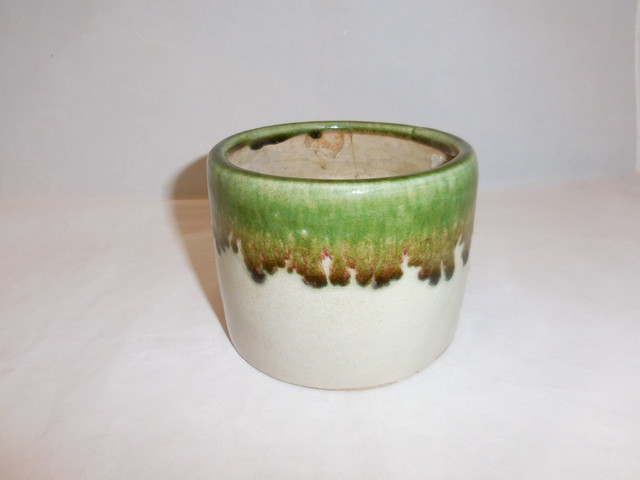 織部火入れ Oribe porcelain ashtray(No6)