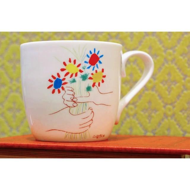 Picasso Corrida  (友情の花束)【artマグカップ】   浜松雑貨屋C0pernicus(電子レンジ、食器洗浄機にも対応)