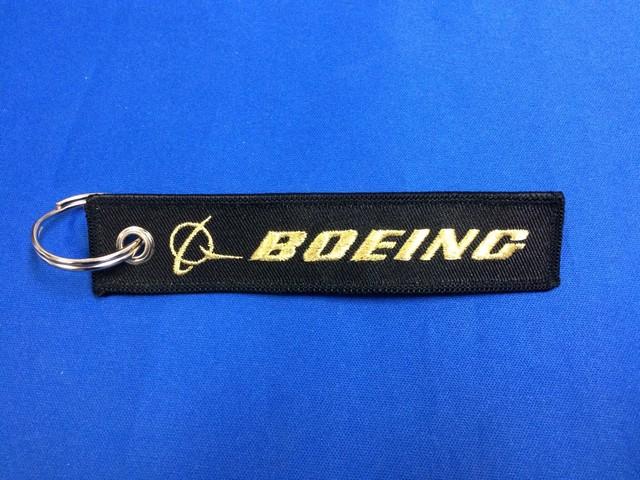 BOEINGキーホルダー(金糸)