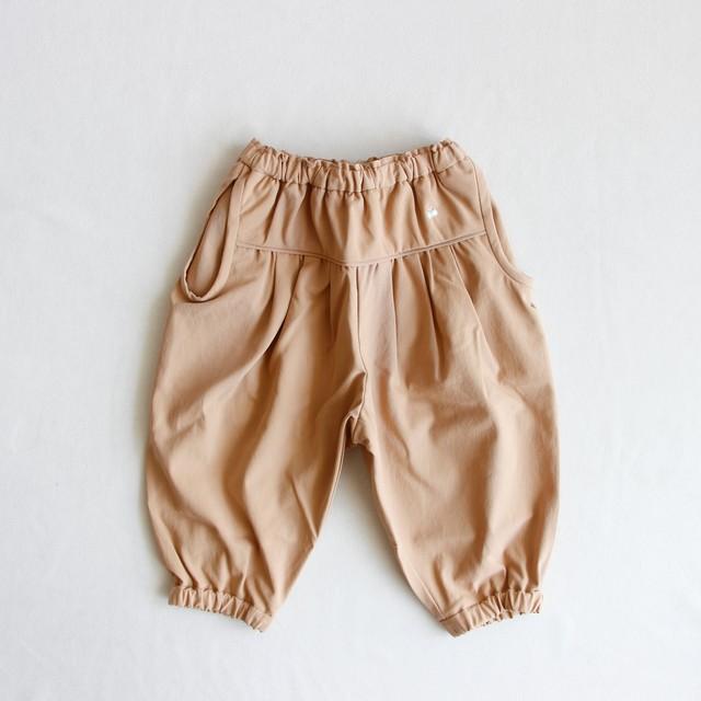 《mina perhonen 2020SS》hop step パンツ / beige / 80-100cm