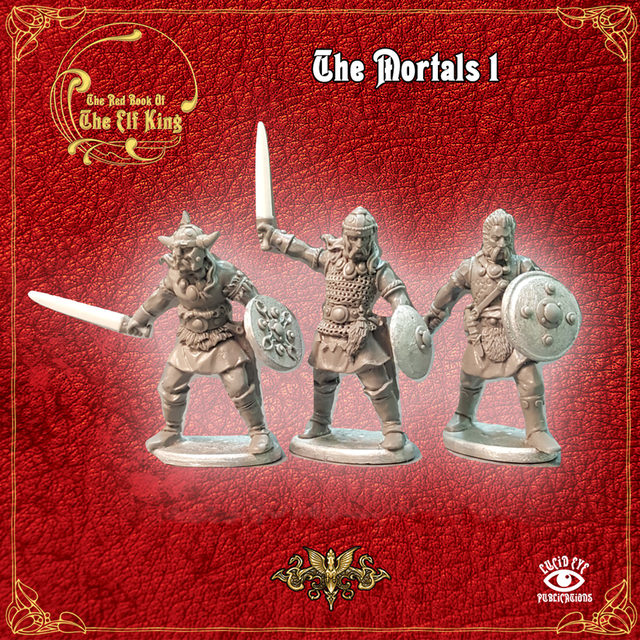 The Mortals 1 (3 figures pack)