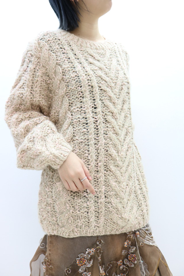low gauge design knit / TP11130018