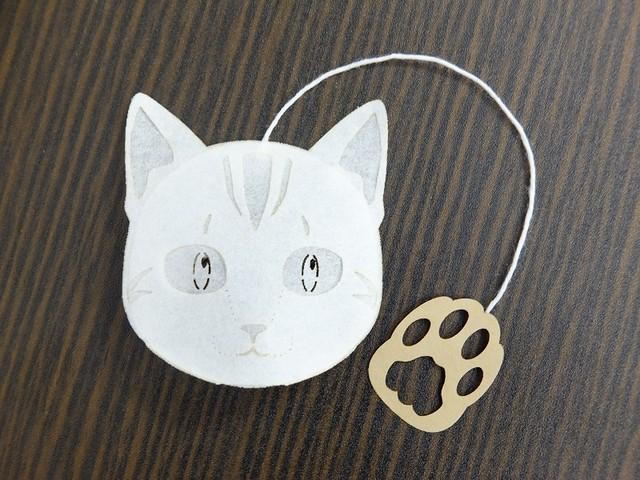 アメリカンショートヘアー猫のティーバッグ プーアール茶 4p入