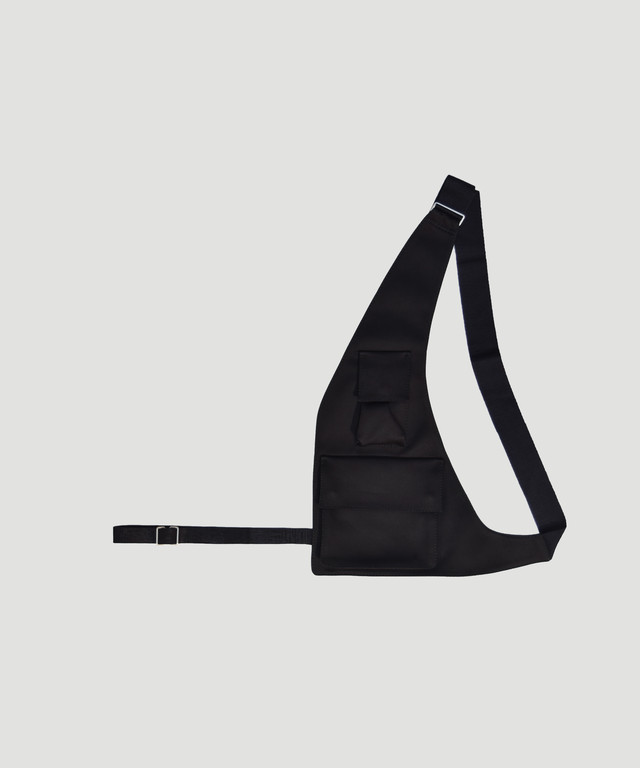OAMC Restraint Shoulder Bag Black OABP850131