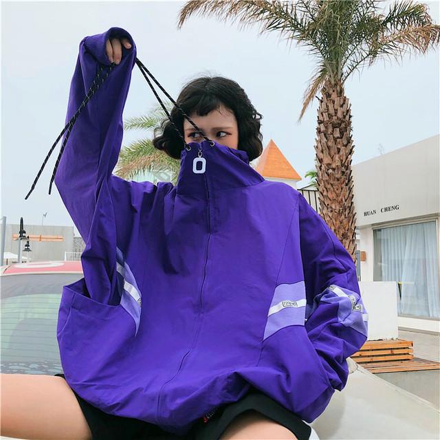 【アウター】学生原宿スポーツファッションジャケット26998346