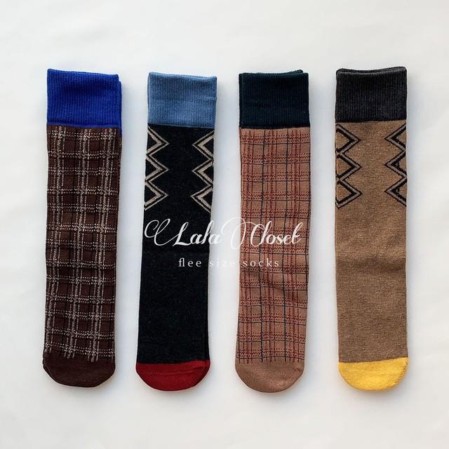 flee size socks CCOYO : BRCOYBX0073026_122