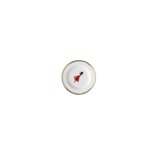 BITOSSI HOME - mini plate - Small Heart by NATHALIE LETE