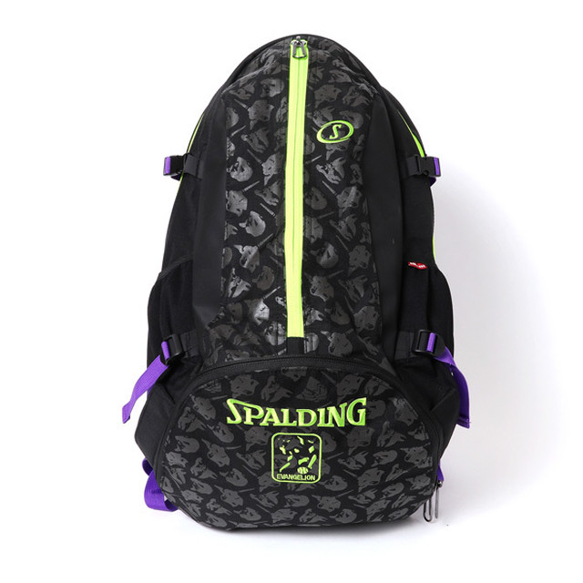 RADIO EVA 721 EVA-01 Cager Backpack by SPALDING Black x Green  / EVANGELION エヴァンゲリオン