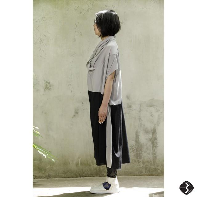[受注生産] FOODED ONE PIECE【COTTONコットン】 3WAYワンピース BY COLOUR[送料/税込]