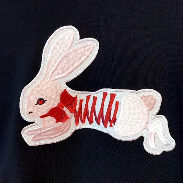 刺繍セーラーカラートレーナー(うさぎ)