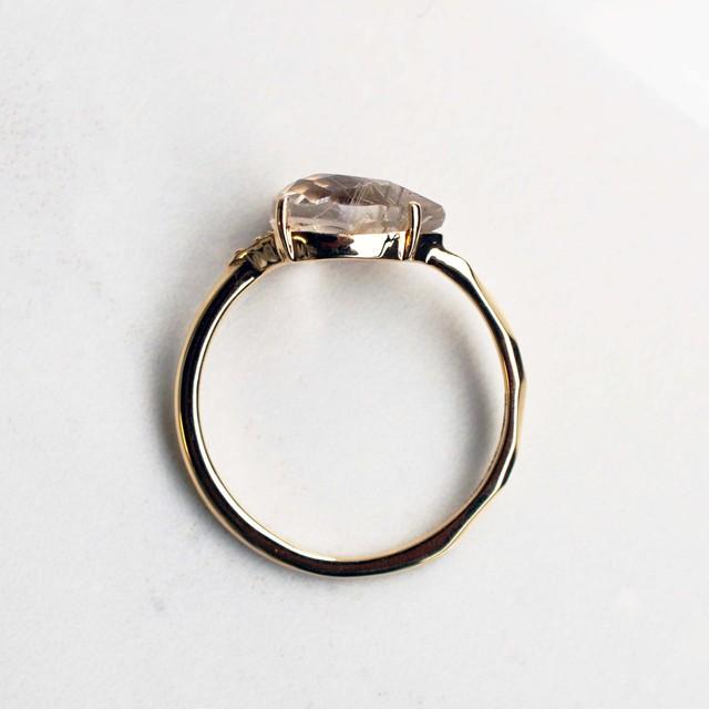 Rutilated Quartz Ring( R243-RQ)