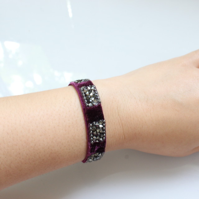 Beatrice Bracelete 13㎜(purple)