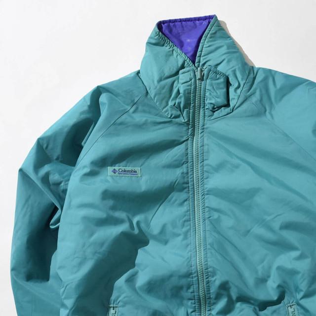 【Mサイズ寸】Columbia コロンビア Zip JKT ジップジャケット GREEN グリーン 400610191204