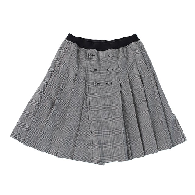 TAKAHITOMIYASHITA THE SOLOIST Check Skirt Size48